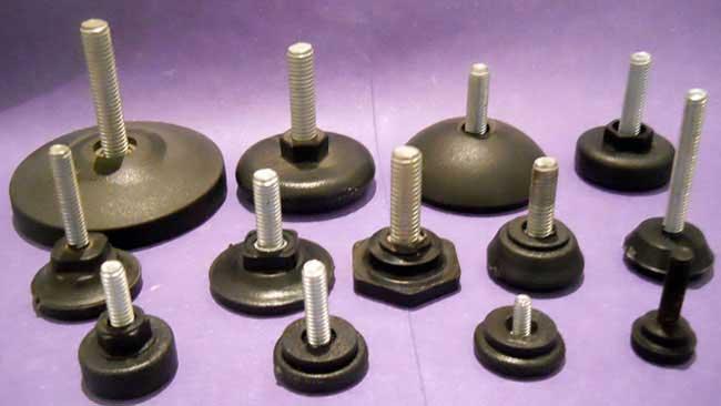 Fabricante de regatones y niveladores tkno inyecci n Niveladores para muebles
