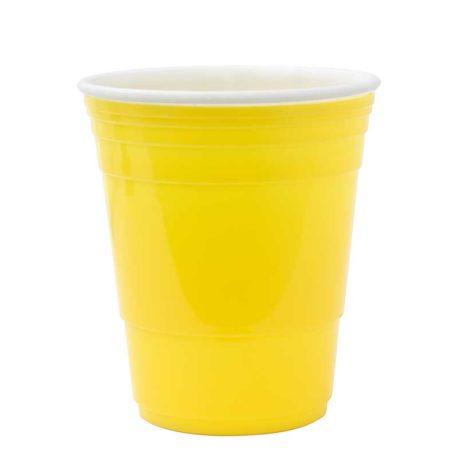 Vaso de Plástico, Amarillo