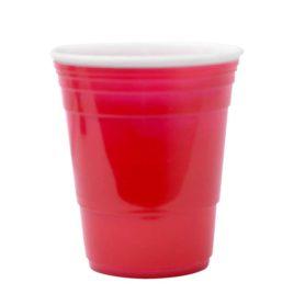 Vaso de Plástico, Rojo